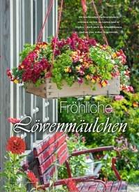 Titelbild der Ausgabe 3/2019 von Fröhliche Löwenmäulchen. Zeitschriften als Abo oder epaper bei United Kiosk online kaufen.