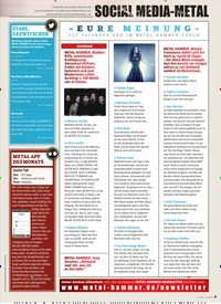 Titelbild der Ausgabe 3/2019 von SOCIAL MEDIA-METAL. Zeitschriften als Abo oder epaper bei United Kiosk online kaufen.