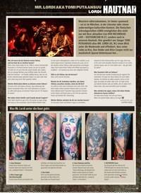 Titelbild der Ausgabe 8/2019 von MR. LORDI AKA TOMI PUTAANSUU: LORDI: HAUTNAH. Zeitschriften als Abo oder epaper bei United Kiosk online kaufen.