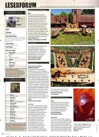 Titelbild der Ausgabe 10/2019 von LESERFORUM. Zeitschriften als Abo oder epaper bei United Kiosk online kaufen.