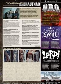 Titelbild der Ausgabe 11/2019 von HAUTNAH. Zeitschriften als Abo oder epaper bei United Kiosk online kaufen.