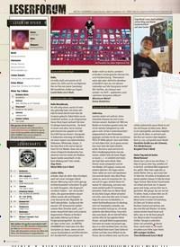 Titelbild der Ausgabe 12/2019 von LESERFORUM. Zeitschriften als Abo oder epaper bei United Kiosk online kaufen.