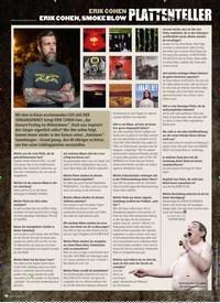 Titelbild der Ausgabe 12/2019 von PLATTENTELLER: ERIK COHEN ERIK COHEN, SMOKE BLOW. Zeitschriften als Abo oder epaper bei United Kiosk online kaufen.