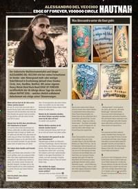Titelbild der Ausgabe 1/2020 von HAUTNAH: ALESSANDRO DEL VECCHIO EDGE OF FOREVER, VOODOO CIRCLE. Zeitschriften als Abo oder epaper bei United Kiosk online kaufen.