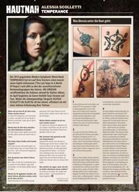 Titelbild der Ausgabe 2/2020 von HAUTNAH: ALESSIA SCOLLETTI: TEMPERANCE. Zeitschriften als Abo oder epaper bei United Kiosk online kaufen.