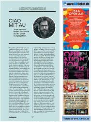 Titelbild der Ausgabe 3/2019 von HIRNFLIMMERN: CIAO MIT AU. Zeitschriften als Abo oder epaper bei United Kiosk online kaufen.