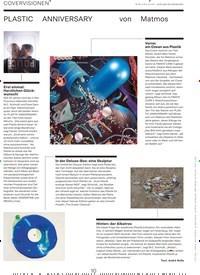 Titelbild der Ausgabe 4/2019 von COVERVISIONEN: PLASTIC ANNIVERSARY von Matmos. Zeitschriften als Abo oder epaper bei United Kiosk online kaufen.