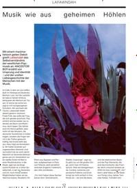 Titelbild der Ausgabe 4/2019 von LAFAWNDAH: Musik wie aus geheimen Höhlen. Zeitschriften als Abo oder epaper bei United Kiosk online kaufen.