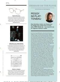 Titelbild der Ausgabe 5/2019 von VERSACE ON THE FLOOR: PEGGY IM PLAT-TENBAU. Zeitschriften als Abo oder epaper bei United Kiosk online kaufen.