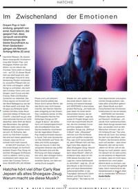 Titelbild der Ausgabe 7/2019 von HATCHIE: Im Zwischenland der Emot ionen. Zeitschriften als Abo oder epaper bei United Kiosk online kaufen.