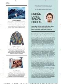 Titelbild der Ausgabe 9/2019 von FASHION KILLA: SCHÖN LANG, SCHÖN SCHLAU. Zeitschriften als Abo oder epaper bei United Kiosk online kaufen.