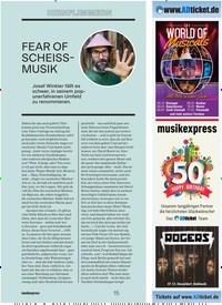 Titelbild der Ausgabe 9/2019 von HIRNFLIMMERN: FEAR OF SCHEISSMUSIK. Zeitschriften als Abo oder epaper bei United Kiosk online kaufen.