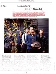 Titelbild der Ausgabe 10/2019 von THEMENINTERVIEW: The Lumineers über Sucht. Zeitschriften als Abo oder epaper bei United Kiosk online kaufen.