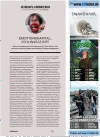 Titelbild der Ausgabe 12/2019 von HIRNFLIMMERN: EMOTIONSKAPITAL, FEHLINVESTIERT. Zeitschriften als Abo oder epaper bei United Kiosk online kaufen.