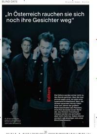 """Titelbild der Ausgabe 12/2019 von BLIND DATE: Editors: """"In Österreich rauchen sie sich noch ihre Gesichter weg"""". Zeitschriften als Abo oder epaper bei United Kiosk online kaufen."""