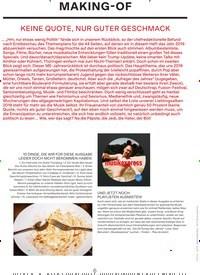 Titelbild der Ausgabe 1/2020 von MAKING-OF. Zeitschriften als Abo oder epaper bei United Kiosk online kaufen.