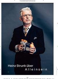Titelbild der Ausgabe 1/2020 von THEMENINTERVIEW: Heinz Strunk über Alleinsein. Zeitschriften als Abo oder epaper bei United Kiosk online kaufen.