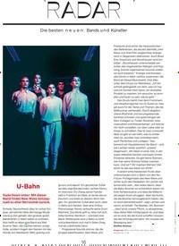 Titelbild der Ausgabe 1/2020 von RADAR. Zeitschriften als Abo oder epaper bei United Kiosk online kaufen.