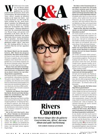 Titelbild der Ausgabe 3/2019 von Rivers Cuomo. Zeitschriften als Abo oder epaper bei United Kiosk online kaufen.