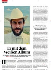 Titelbild der Ausgabe 3/2019 von Er mit dem Weißen Album. Zeitschriften als Abo oder epaper bei United Kiosk online kaufen.