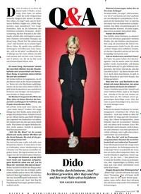 Titelbild der Ausgabe 4/2019 von Q&A: Dido. Zeitschriften als Abo oder epaper bei United Kiosk online kaufen.