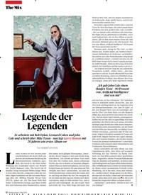 Titelbild der Ausgabe 5/2019 von Legende der Legenden. Zeitschriften als Abo oder epaper bei United Kiosk online kaufen.