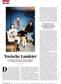 Titelbild der Ausgabe 7/2019 von Toxische Landeier. Zeitschriften als Abo oder epaper bei United Kiosk online kaufen.