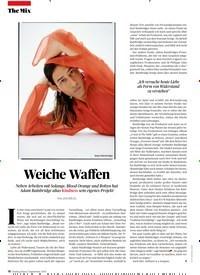 Titelbild der Ausgabe 9/2019 von Weiche Waffen. Zeitschriften als Abo oder epaper bei United Kiosk online kaufen.