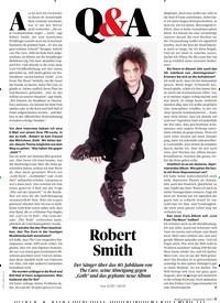 Titelbild der Ausgabe 12/2019 von Q&A Robert Smith. Zeitschriften als Abo oder epaper bei United Kiosk online kaufen.