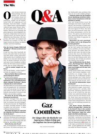Titelbild der Ausgabe 1/2020 von Q&A: Gaz Coombes. Zeitschriften als Abo oder epaper bei United Kiosk online kaufen.