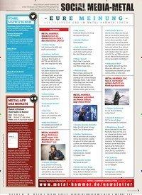 Titelbild der Ausgabe 7/2019 von SOCIAL MEDIA – METAL. Zeitschriften als Abo oder epaper bei United Kiosk online kaufen.