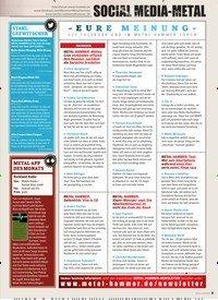 Titelbild der Ausgabe 1/2020 von SOCIAL MEDIA METAL: EURE MEINUNG. Zeitschriften als Abo oder epaper bei United Kiosk online kaufen.