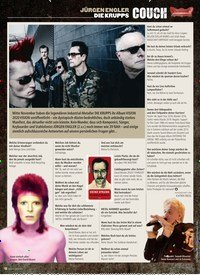 Titelbild der Ausgabe 1/2020 von COUCH: JÜRGEN ENGLER DIE KRUPPS. Zeitschriften als Abo oder epaper bei United Kiosk online kaufen.