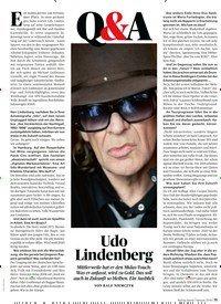 Titelbild der Ausgabe 2/2019 von Q & A: Udo Lindenberg. Zeitschriften als Abo oder epaper bei United Kiosk online kaufen.