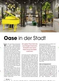 Titelbild der Ausgabe 9/2019 von Oase in der Stadt. Zeitschriften als Abo oder epaper bei United Kiosk online kaufen.