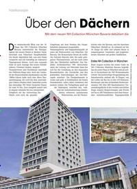 Titelbild der Ausgabe 10/2019 von Über den Dächern von München. Zeitschriften als Abo oder epaper bei United Kiosk online kaufen.
