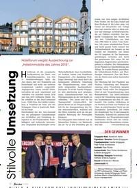 Titelbild der Ausgabe 11/2019 von Stilvolle Umsetzung. Zeitschriften als Abo oder epaper bei United Kiosk online kaufen.