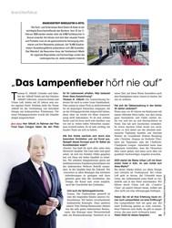 """Titelbild der Ausgabe 12/2019 von """"Das Lampenfieber hört nie auf"""". Zeitschriften als Abo oder epaper bei United Kiosk online kaufen."""
