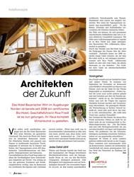 Titelbild der Ausgabe 12/2019 von Architekten der Zukunft. Zeitschriften als Abo oder epaper bei United Kiosk online kaufen.