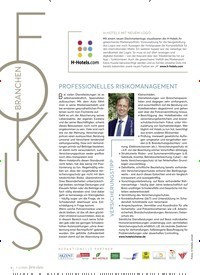 Titelbild der Ausgabe 2/2020 von PROFESSIONELLES RISIKOMANAGEMENT. Zeitschriften als Abo oder epaper bei United Kiosk online kaufen.
