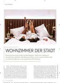 Titelbild der Ausgabe 2/2020 von Neue Marken: WOHNZIMMER DER STADT. Zeitschriften als Abo oder epaper bei United Kiosk online kaufen.