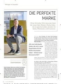 Titelbild der Ausgabe 2/2020 von DIE PERFEKTE MARKE. Zeitschriften als Abo oder epaper bei United Kiosk online kaufen.