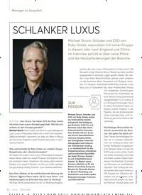 Titelbild der Ausgabe 3/2020 von SCHLANKER LUXUS. Zeitschriften als Abo oder epaper bei United Kiosk online kaufen.