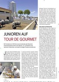 Titelbild der Ausgabe 5/2019 von JUNIOREN AUF TOUR DE GOURMET. Zeitschriften als Abo oder epaper bei United Kiosk online kaufen.