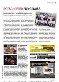 Titelbild der Ausgabe 5/2019 von BOTSCHAFTER FÜR GENUSS. Zeitschriften als Abo oder epaper bei United Kiosk online kaufen.