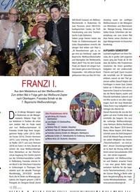 Titelbild der Ausgabe 6/2019 von FRANZI I.. Zeitschriften als Abo oder epaper bei United Kiosk online kaufen.