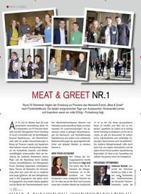 Titelbild der Ausgabe 6/2019 von MEAT & GREET NR. 1. Zeitschriften als Abo oder epaper bei United Kiosk online kaufen.