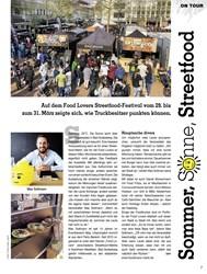 Titelbild der Ausgabe 1/2019 von Sommer, Sonne, Streetfood. Zeitschriften als Abo oder epaper bei United Kiosk online kaufen.