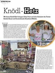 Titelbild der Ausgabe 1/2019 von Knödl Hetz. Zeitschriften als Abo oder epaper bei United Kiosk online kaufen.