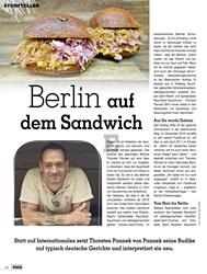 Titelbild der Ausgabe 1/2019 von Berlin auf dem Sandwich. Zeitschriften als Abo oder epaper bei United Kiosk online kaufen.